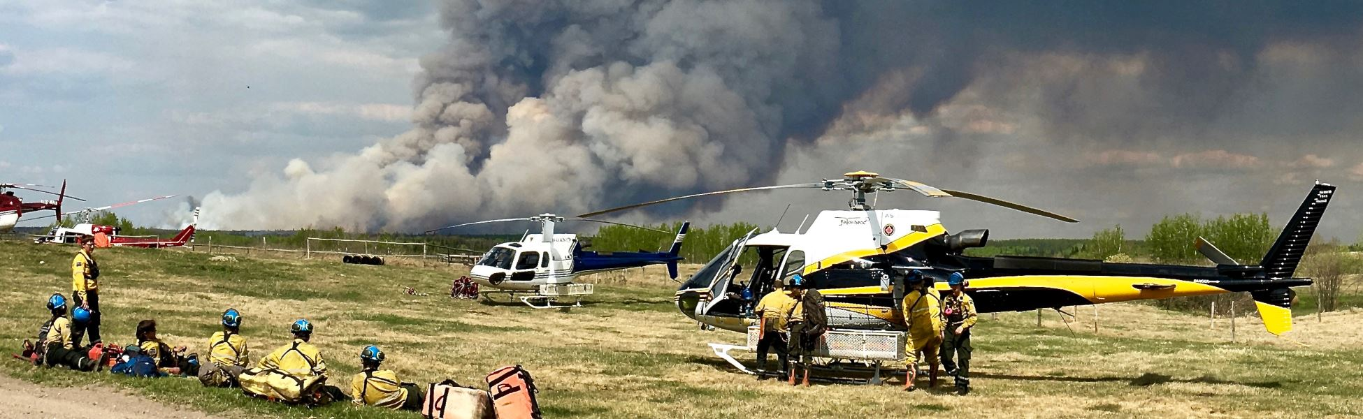 helicopter services BC firefighting wildfires 2018