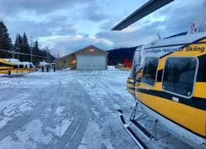 Blue River BC hangar