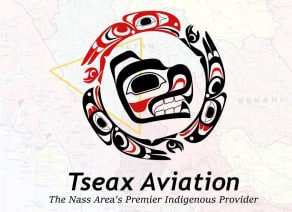 Tseax Aviation Nisga'a logo