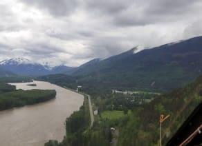 image Skeena River flooding 2021